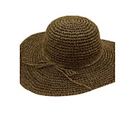 Women Straw Floppy Hat , Casual Summer
