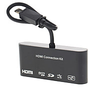 HDTV Adapter and OTG Card Reader