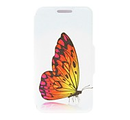 Kinston® Dazzle Beautiful Butterfly Pattern PU Leather Full Body Case with Stand for Nokia Lumia 630/635