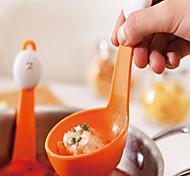 Plastique Filtre Spoon, L5.7cm x W8cm x H4cm
