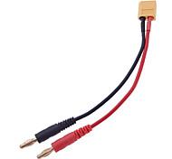 15cm XT60 to 4.0 Banana Plug RC Battery Charge Cable