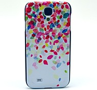 Pink Glass Fragment Pattern Plastic Protective Back Cover for Samsung Galaxy S4 I9500