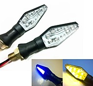 Double Color Lights Motorcycle LED Light Turn Signal Indicator