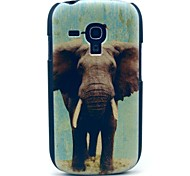 For Samsung Galaxy Case Pattern Case Back Cover Case Elephant PC Samsung S3 Mini