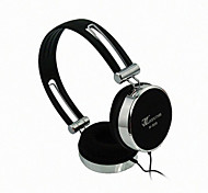 Lizu 809 Foldable On-Ear Headphone with Mic for Mobilephone/Computer