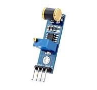 d1208036 diy vibração saída analógica do módulo sensor de detecção para (para arduino)