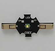 3W 200LM 6500K Cool White Solderless Cree XPE LED Emitter Module (3.2-3.6V)