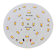 10W LED Ceiling Lights 24 SMD 5730 800-900 lm Warm White Decorative AC 100-240 V