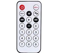030911 Mini 20-key IR Remote Controller - Black (1 x CR2025)