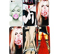 Sexy Girl Series Back Case for iPhone4/4S(Assorted color)