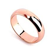 (1 Pc) Mode Damen vergoldete Band Ringe