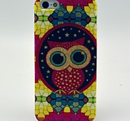 Lovely Owl Cartoon Pattern Soft Case for iPhone 5/5S
