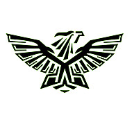 Strong Eagle Pattern Decorative Car Sticker