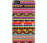 Opnamen samenvoegen Pattern Hard Case Cover voor iPhone 4/4S