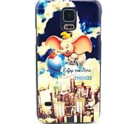 Fliegende Elefant-Muster Hard Case für das Samsung Galaxy i9600 S5