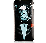 Cigar Gorilla Pattern Back Case for HTC One M7