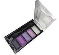 5 Eyeshadow Palette Wet Eyeshadow palette Powder Normal Smokey Makeup / Daily Makeup