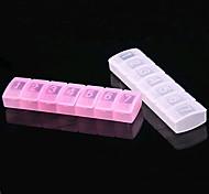 11 * 3 * 3 centimetri scatola di plastica Medicina Portable