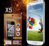 Protector HD protector de pantalla para Samsung Galaxy S3 I9300 (5PCS)
