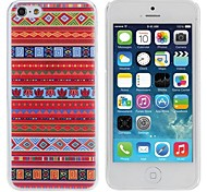 Elonbo New Retro Tribal Stripe Design Style Hard Back Case Cover for iPhone 5C