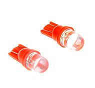 2Pcs High Power T10-1 6W Halogen Red Car Signal Tail light Bulb 12V Super Bright