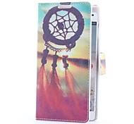Sogno Custodia in pelle Catcher e Sunset Style con slot per schede e supporto per LG Optimus L9 P760