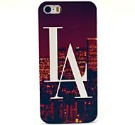 Hard Case Las Vegas Vue de modèle pour l'iPhone 5/5S