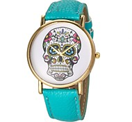 Women's Watch Fashion Skull Pattern