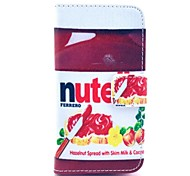 Nute Design PU Full Body Case with Card Slot for iPhone 4/4S