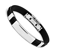 Bracelet Bangles,Men's Bracelet Black Stainless Steel Bracelet Fashion Jewelry Boyfriend Chrismas s 1 pcs Christmas Gifts