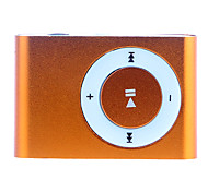 Retangular de 2GB TF MP3 Player com Clip