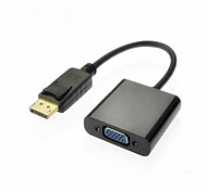 DisplayPort macho a VGA adaptador hembra Cable