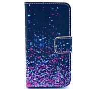 The Gradient Colour The Stars Point Pattern PU Leather Full Body case for iPhone 4/4S