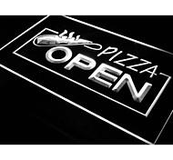 i026 OPEN Pizza Restaurant Displays Neon Light Sign