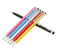 Tablet Stylus Touch Pen met balpen voor Samsung Galaxy Tab / Kindle Fire / Google Nexus7/Xoom (assorti kleur)