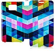 Geometrische Form Series Leder Ganzkörper-Case für Samsung Galaxy S2 I9100 (Farbe sortiert)