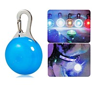 Dog tags Clip-on Colored Light LED Pet Dogs Safety Lamp