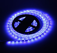 Los 5M 24W 300x3528SMD Blue Light Lámpara LED Strip (12V DC)