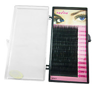 1 Eyelashes lash Eyelash Volumized Microfiber