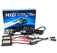 Merdia H4 55W 8000K 2800LM HID Xenon Lights with Ballasts Kit (AC 9~16V)