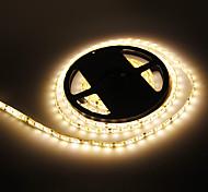 Impermeabilice los 5M 72W 300x5050SMD 3000-3500K luz blanca cálida Lámpara LED Strip (12V DC)