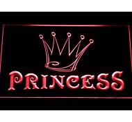 juego princesa signo luz de neón corona habitación