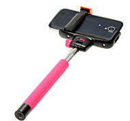 High Quality Wireless Mobile Phone Monopod (Black, Pink)
