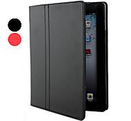 Protective PU Ledertasche & Ständer für iPad 2/3/4 (farblich sortiert)