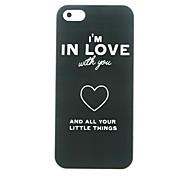 Amor Corazón Patrón duro para el iPhone 5/5S