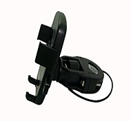 X5 360 Degree Rotatable Motorcycle Mount Holder for Cell Phone + More - Black