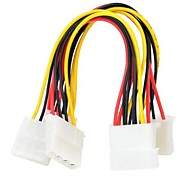 IDE 1to2 4pin Power Cable  2PCS