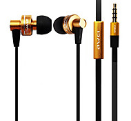 Genuine Awei ES900i 3.5mm In-Ear Clear Bass Earphone with Mic for iPhone/Samsung/HTC/Moto Cell Phones&Tabs