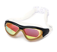 Plating Anti-Fog UV Protection Swimming Goggles