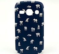 Indische Olifant patroon harde Case voor Samsung Galaxy Fame S6810/S6818